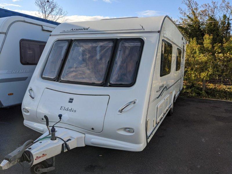 Used 2006 Elddis Sussex Arundel - 4 Berth, Fixed Bunk Beds ...